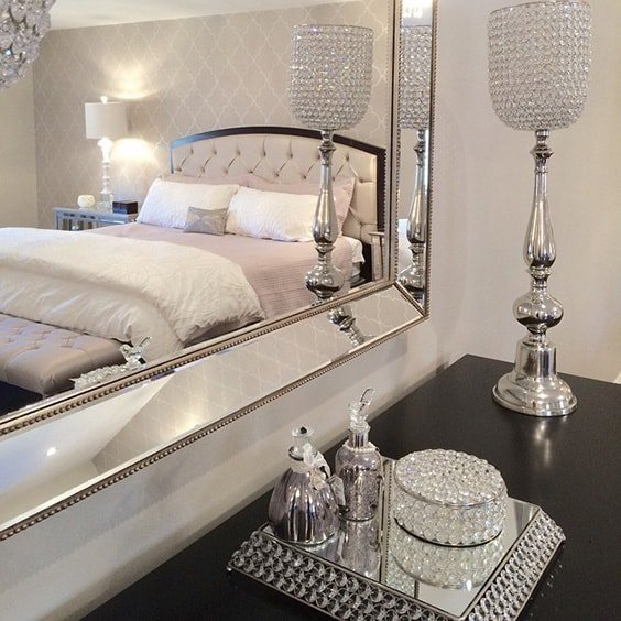Fantastic 39 Amazing and Inspirational Glamour Bedroom Ideas | The Sleep Judge RL96