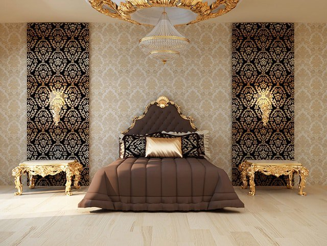 Hereu0027s Another Victorian Style Bedroom. These Are Probably My Favorite  Designs Because Theyu0027re Just A Timeless Classic. The Bed Has Very Exquisite  Gold ...