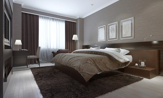 30 Absolutely Awesome Brown Bedroom Ideas That You Have To ...