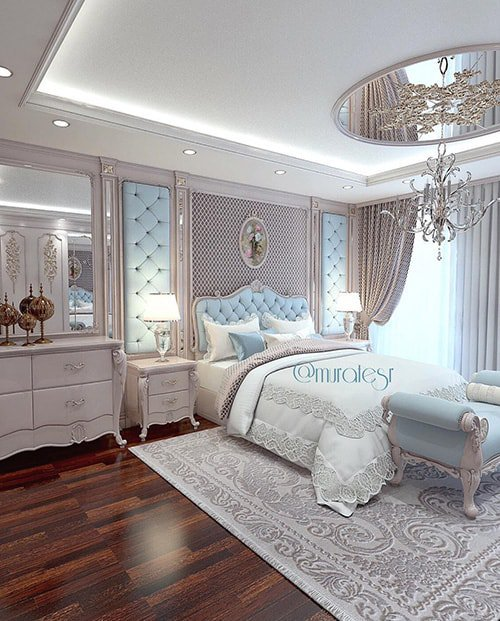 Travel Inspired Bedroom Designs Are Sophisticated And Elegant: 39 Amazing And Inspirational Glamour Bedroom Ideas