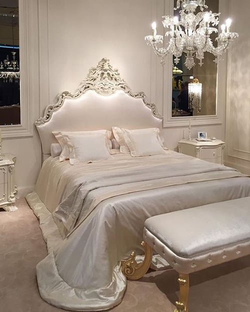 39 Amazing and Inspirational Glamour Bedroom Ideas - The ...