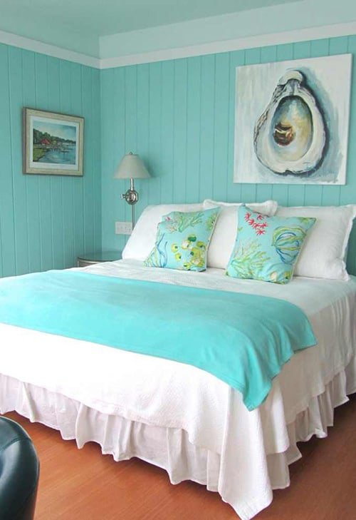 41 Unique and Awesome Turquoise Bedroom Designs - The Sleep Judge