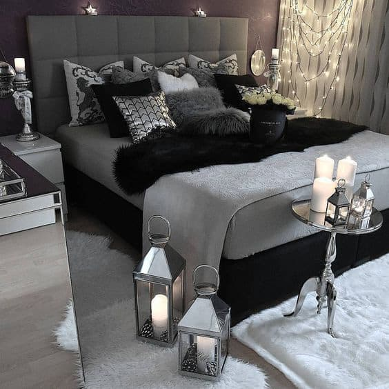 48 Awesome Gray Bedroom Ideas To Spark Creativity The Sleep Judge Beauteous Black Bedroom