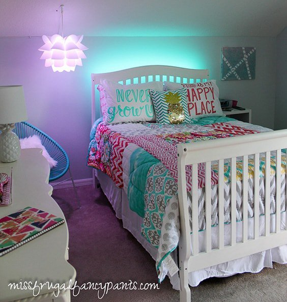 Aqua And Pink Bedroom Ideas: 41 Unique And Awesome Turquoise Bedroom Designs