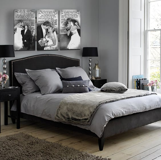 Grey Bedroom Decorating: 37 Awesome Gray Bedroom Ideas To Spark Creativity