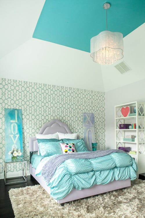 Turquoise Bedroom Ideas Part - 17: Learn More