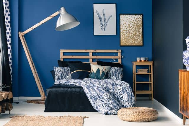 30 Of The Best Blue Bedroom Ideas For, Best Bedding For Blue Walls
