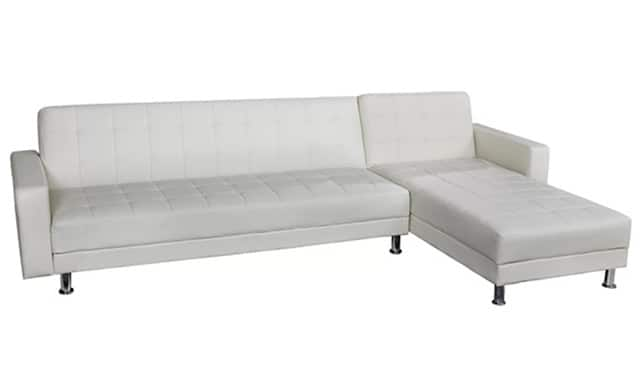 sectional sofas chaise sleeper small queen with lounge charming white of sofa leather