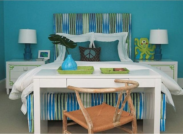 41 Unique and Awesome Turquoise Bedroom Designs | The Sleep Judge