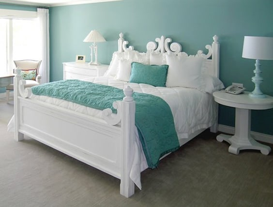 41 unique and awesome turquoise bedroom designs the sleep judge rh thesleepjudge com gray and turquoise bedroom gray and turquoise bedroom designs