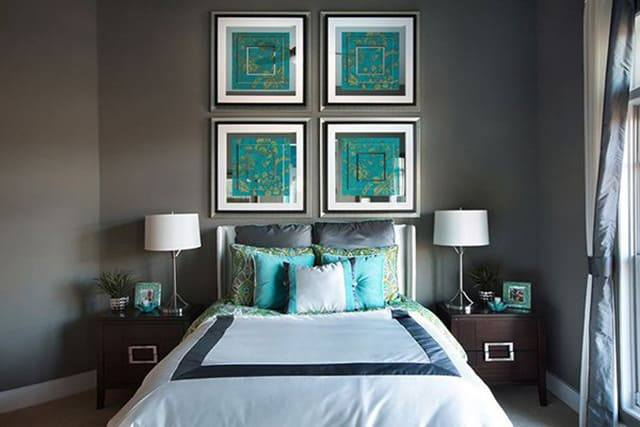 41 unique and awesome turquoise bedroom designs the sleep judge rh thesleepjudge com gray orange and turquoise bedroom gray and turquoise bedroom ideas
