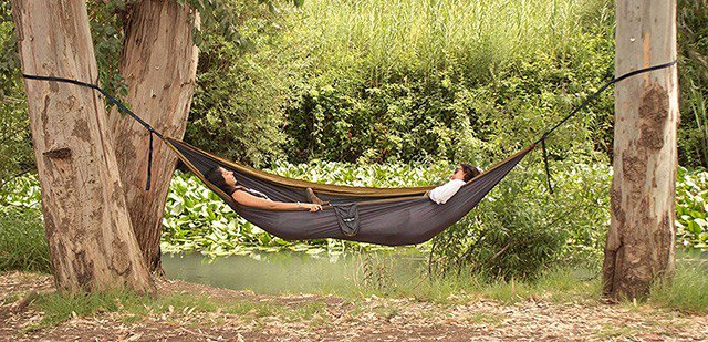 Medium image of the camping hammock is a very well known option for outdoor adventurists and longtime hikers  they are mostly made of some sort of nylon material
