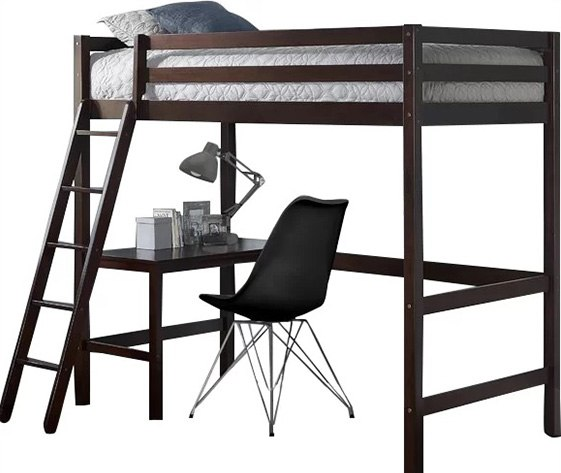 A Loft Bed Is Similar To The Style Of Bunk Design With Slightly Higher Price Tag As It Raised Supported By Posts But Instead Bottom
