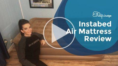 Instabed Air Mattress Review Video