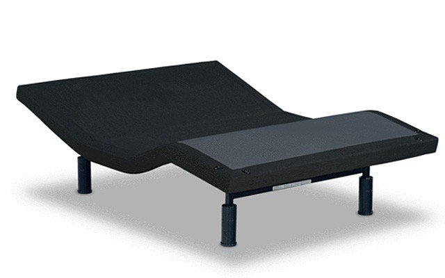 Adjustable bed from NEST black