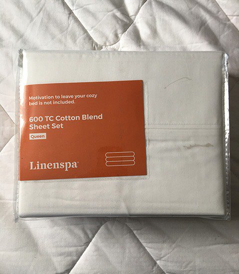 Linenspa 600 Thread Sheet Set