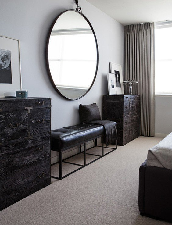 29 Super Unique Bedrooms With Black Furniture The Sleep