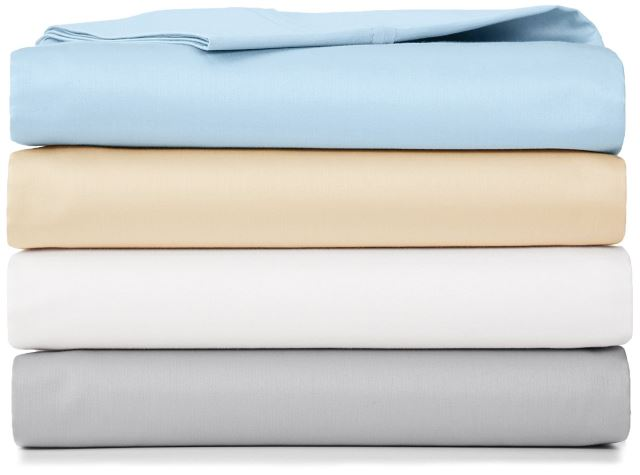 A Set Of Super Comfortable And Soft Cotton Sheets