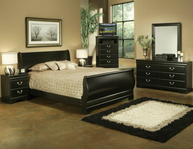 29 Super Unique Bedrooms With Black Furniture - The Sleep Judge
