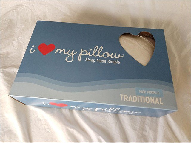 I Love My Pillow Classic Traditional Pillow Review