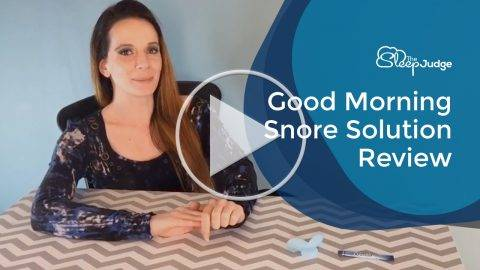 Good Morning Snore Solution Video Review