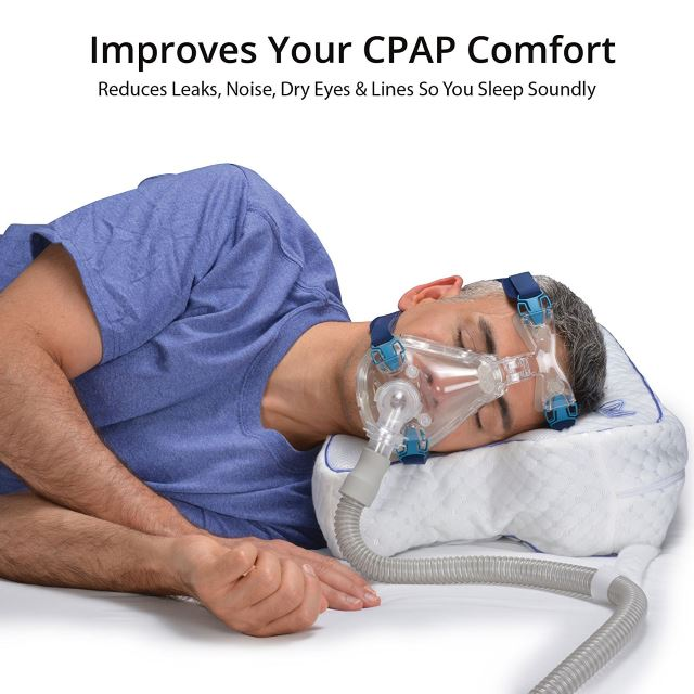 Best Pillow For Use With A Cpap Machine Reviews 2019 The Sleep Judge