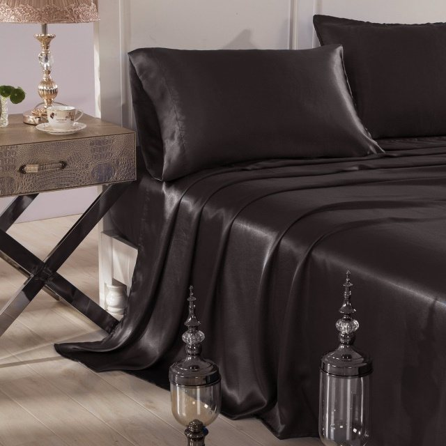 High Quality While Not The Most Popular Color For Bed Sheets, Black Does Have Its  Advantages. Itu0027s One Of The Most Subtly Sexy Colors Available, Which Means  That People ...