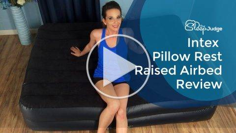 Intex Pillow Rest Raised Airbed Video Review