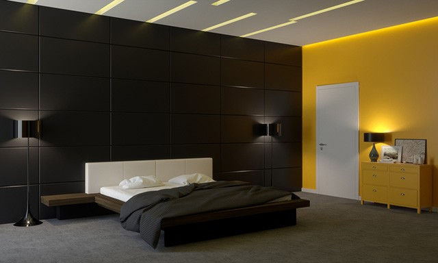 Lighting Design Of Bedroom : 25 of the best modern lighting ideas for bedrooms: #17 is gorgeous