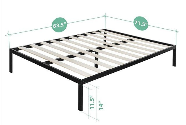 How Wide Is A King Size Bed Frame The Sleep Judge