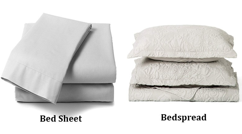What S The Difference Between A Bed Sheet And Bedspread
