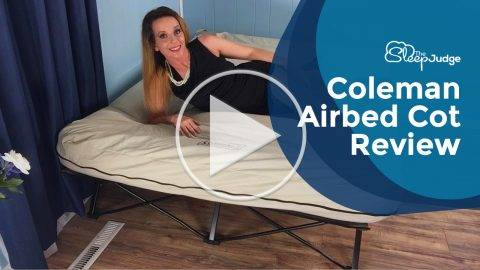 Coleman Airbed Cot Video Review