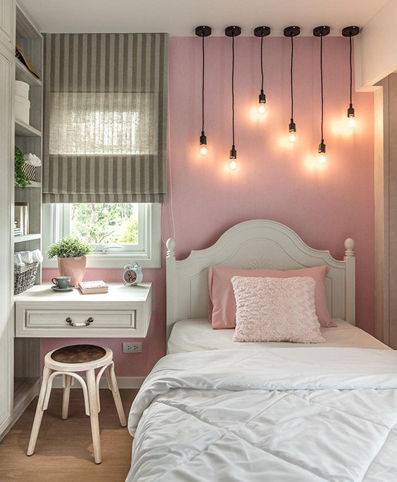 35 Amazing Small Bedroom Lighting Ideas The Sleep Judge