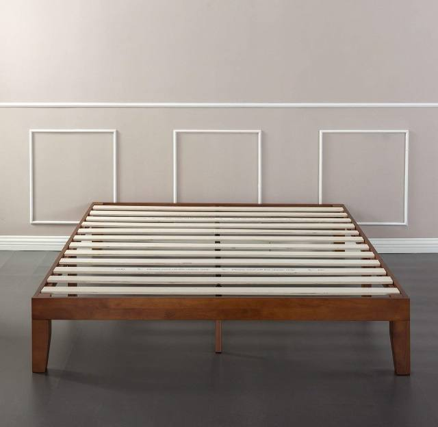 Best Bed Frame For A Memory Foam Mattress Review 2019