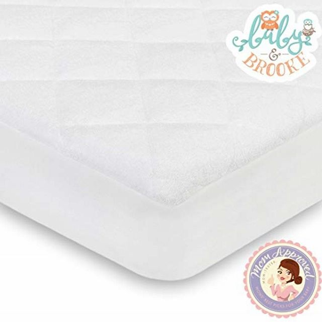 Very Helpful Crib Mattress Pad Baby and Brooke Organic Crib Mattress Cover Pad