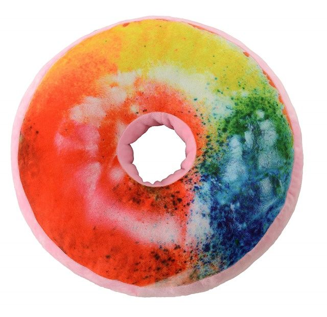 Cheer Collection Round Donut Pillow