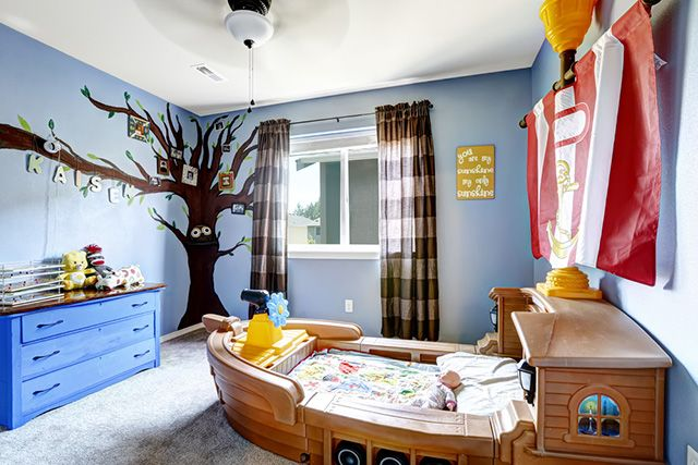 When you help a kid design his or her bedroom, it's a way for them to express themselves while helping them with the overall creative process.