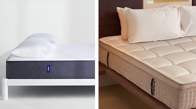 The DreamCloud and the Casper are both examples of mattresses that are made with dual materials while aiming to satisfy individual preferences.