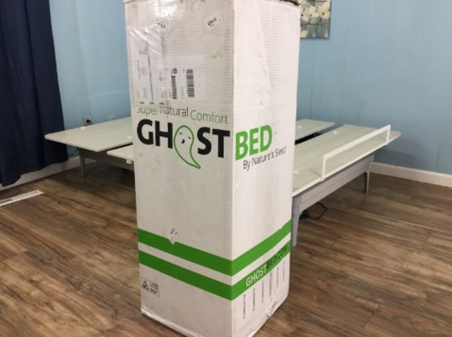 The Ghostbed Unboxing