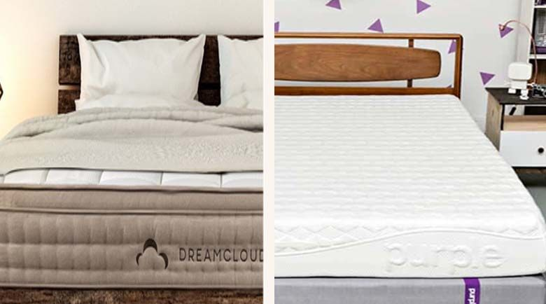 Here, we're going to take a more in-depth look at both the Purple and the DreamCloud mattresses, so you can decide on which would best suit your needs.
