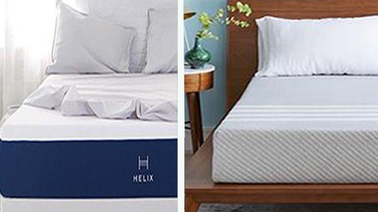 We'll be taking a closer look at the Helix Midnight Mattress and Leesa Mattress – two affordable mattresses that are also favorites on the market.