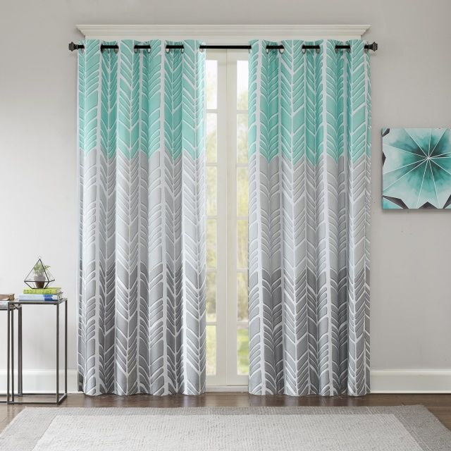 The following gray blackout curtain ideas are a wonderful addition that blends well into most decors and provides the darkness you need.