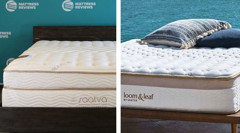We're going to cast the limelight on two bestsellers – The Saatva Classic Mattress and The Loom and Leaf Mattress – to help you find your best fit.