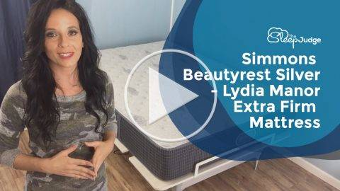 Simmons Beautyrest Silver Lydia Manor Extra Firm Mattress Video Review