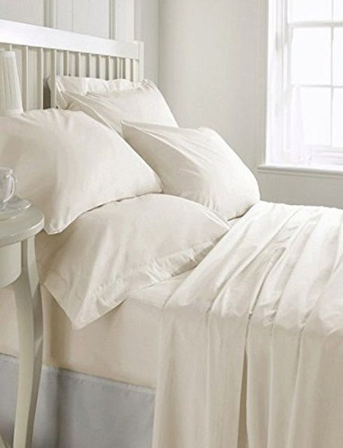 Habitat Luxury Home Collection doesn't have the most versatile bed sheet collection on the market, but their organic cotton sheets are available in different sizes and colors