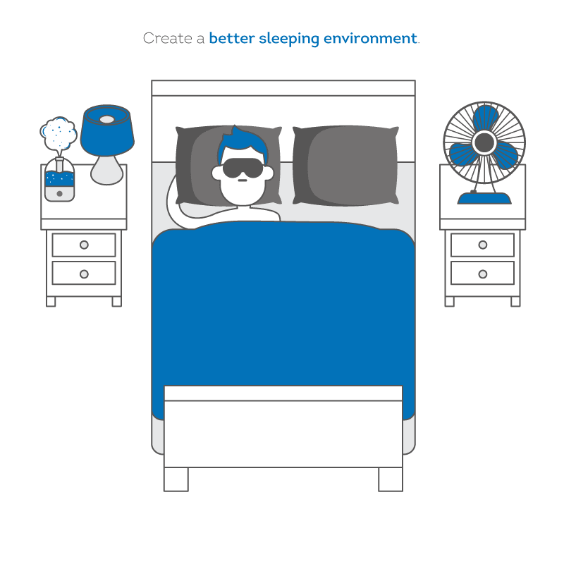 image of a better sleeping environment