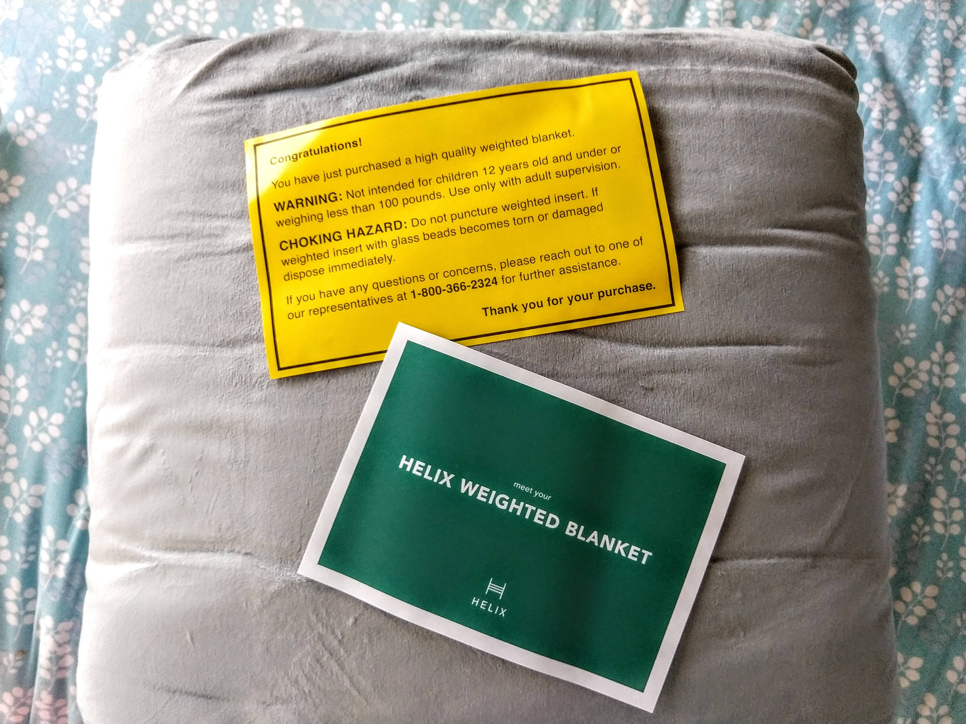 Helix Weighted Blanket Review The Sleep Judge