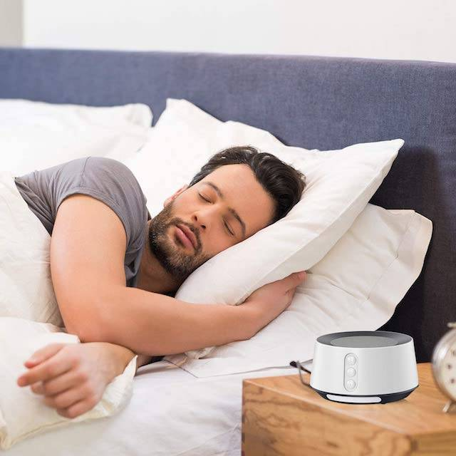 Whether you have trouble falling asleep or have a problem focusing on work due to background chatter, a white noise machine is a perfect choice.